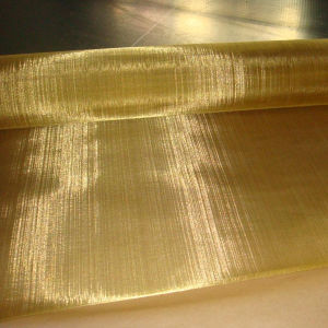 Brass Woven Wire Mesh in Copper Mesh Fabric Material pictures & photos