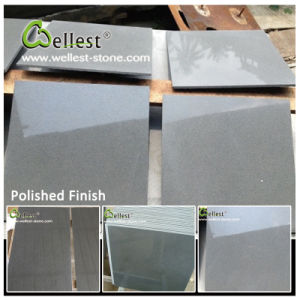 Black Grey Bluestone Lava Stone Basalt Tile for Pavers/Paving/Floor/Flooring/Wall Cladding pictures & photos