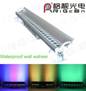 Outdoor IP 65 27LEDs 3W RGB 3in1 Wall Washer Light pictures & photos