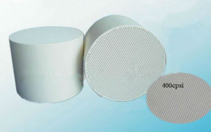 Cordierite Honeycomb Ceramic Diesel Particulate Filter for Exhaust System pictures & photos
