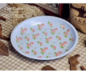 Round Fruit Tin Serving Trays (FV-112909) pictures & photos