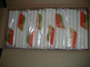 Plain Stick White Candles for Religious Praying