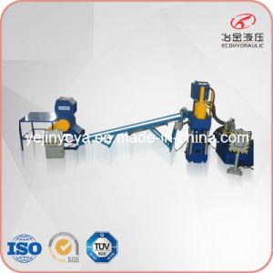 Automatic Aluminum Chips Briquetting Machine Line (SBJ-500, B500, PSL-5040) pictures & photos
