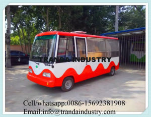 China New design Electric High Quality Food Cart Bus pictures & photos