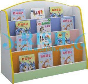 Modern Corner Shelf in School (RS138)