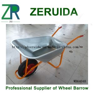 for European Countries Metal Tray Wheelbarrow pictures & photos