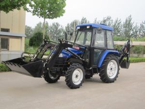 4 Wheel Drive Hot Sale 50HP Farm Tractor with Front Loader pictures & photos