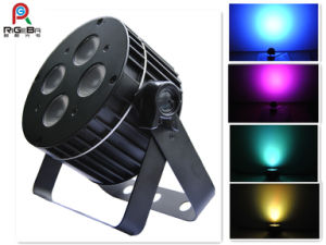 4LEDs 8W Rgbwy 5in1 Indoor LED PAR Can pictures & photos