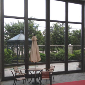 Aluminum Thermal-Break Bi-Folding Door with Big Size and Good Looking pictures & photos