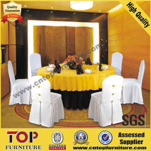 Banquet Polyester Chair Cover and Table Cloth pictures & photos