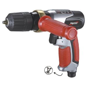 Pneumatic Tool 3/8′′ Keyless Reversible Air Drill pictures & photos
