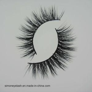 Black Cross False Lash Soft Long Makeup Eyelash pictures & photos