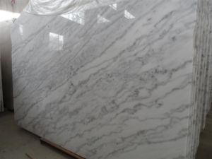 Natural Landscape White Marble for Slab pictures & photos