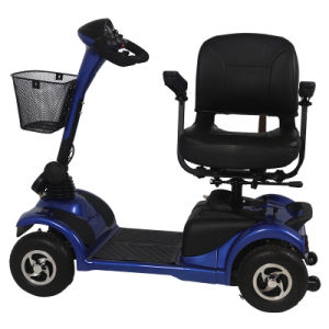 Intelligent Controller 4 Wheel Electric Tricycle for Disabled pictures & photos