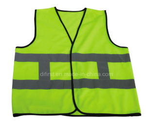 High Visibility Reflective Safety Vest with En471 (DFV1015) pictures & photos