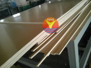WPC Board/Sheet/Plate Production Line/Plastic Machinery pictures & photos