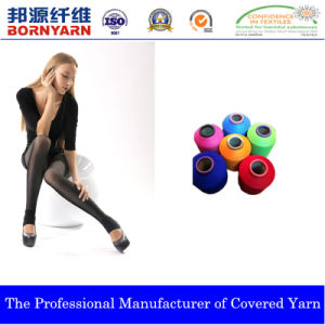 Spandex Covered Yarn with Nylon for Pantyhose Scy pictures & photos