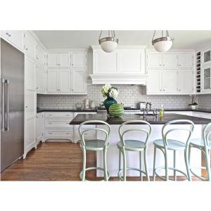 2016 New Trend Hot White Kuche Kabinett Kuche Kabinett Lack Im Kitchen Cabinets pictures & photos
