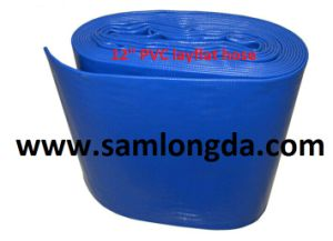 PVC Layflat Delivery Hose for Drip Irrigation pictures & photos