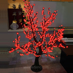 LED Christmas Decoration Simulation Cherry Tree Light (LDT CR768E) pictures & photos