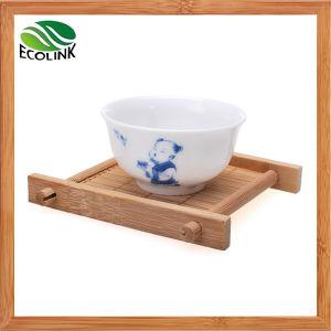 Bamboo Tea Cup Coaster / Tea Cup Saucer pictures & photos