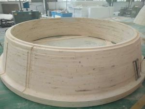 Slag Tank Mold in Wooden for Casting pictures & photos