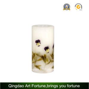 Handmade Flower Decor Design Pillar Candle pictures & photos