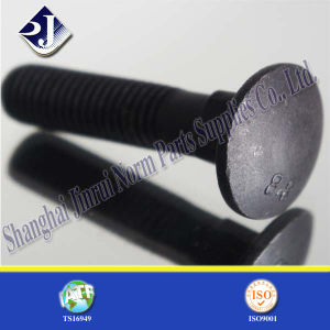 Black Surface Square Neck Carriage Bolt pictures & photos