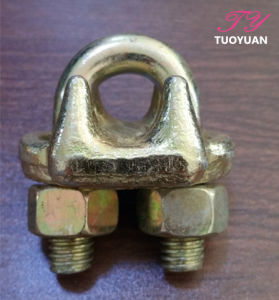 Us Type Drop Forged Wire Rope Clip pictures & photos