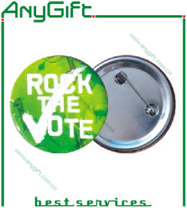 Metal Button Badge with Customized Logo (LAG-MP-26) pictures & photos