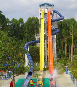 Spiral Slide and Speed Slide Combination (HZQ-04/08)