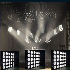 International CE 25*10W LED CREE Beam White DJ/Party Panel Lighting pictures & photos