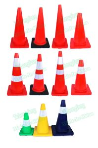 Safety Reflective Orange PVC Traffic Cones