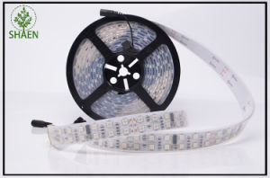 RGB LED Strip 5m 600LED Double Line Waterproof pictures & photos