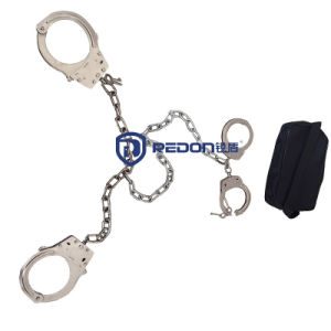 Economic Durable Plastic Nylon Police Handcuff pictures & photos