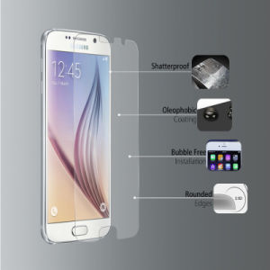 Shatterproof Tempered Glass Screen Protector for Samsung Galaxy S6 pictures & photos