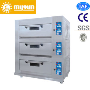 Mysun Oversea Technology Service Gas Electronic Deck Oven pictures & photos