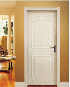 White Primed Interior Door with Raised Molding for Hotel pictures & photos
