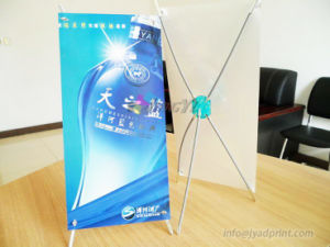 Custom Desktop Roll Up X-Banner Mini Stand For Sale pictures & photos