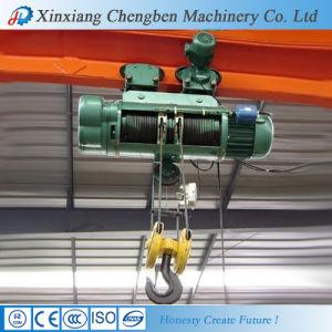Factory Price 0.5~32 Ton Wire Rope Electric Hoist for Bridge Crane pictures & photos