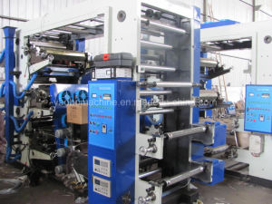 Yb-61000 Six Color Automatic Flexo Printing Machinery with EPC pictures & photos