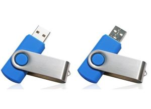 Navy Blue Swivel USB Flash Drive 4GB pictures & photos