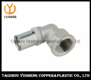Elbow Female Forged Brass and Stainless Steel Press Pipe Fittings (YS3206)