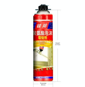 Wholesale Big Pack Polyurethane Fixing Foam pictures & photos