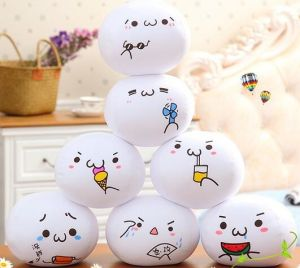 2016 Hot Sell Funny Round Shaped Emoji Pillows pictures & photos