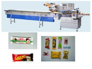 PLC Control Automatic Flow Pack Machine with Ce Certificate pictures & photos