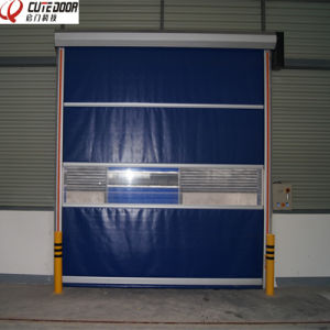 Dustproof Induced High Quality Clean up Roller Shutter Door pictures & photos