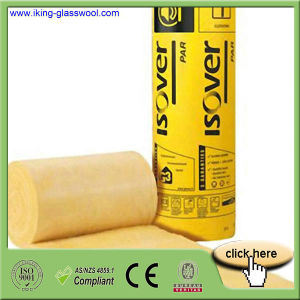 Fiber Glass Wool Insulation with Aluminum Foil Via Ce pictures & photos