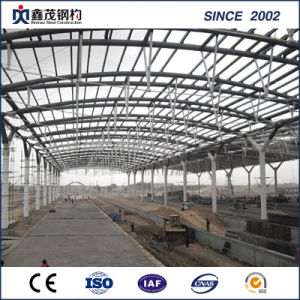 China Supplier High Quality Steel Structure Building Station pictures & photos