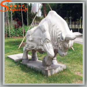 Garden Decoration Artificial Plastic Stone Cattle Statues pictures & photos